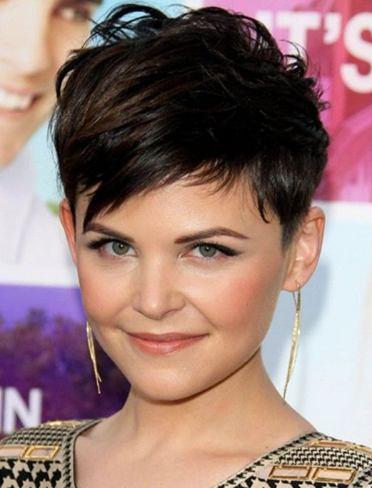 of Cute Pixie Haircuts for Short Hair: Ginnifer Goodwin Hair Styles
