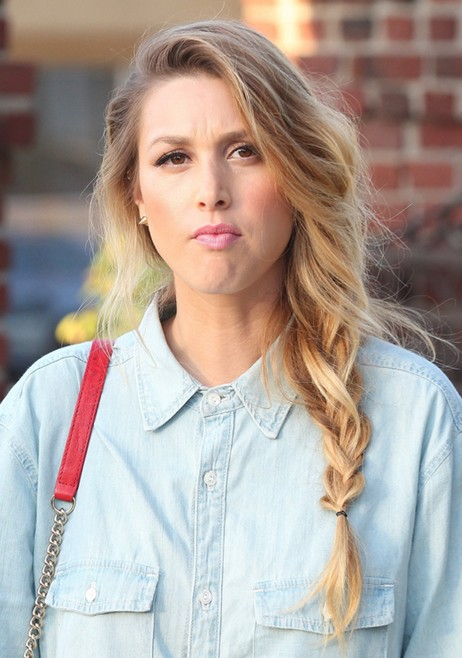 Easy Braids For Long Hair Whitney Port Hairstyle