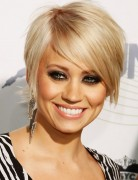 Easy Short Haircut for Blond Hair, Kimberly Wyatt Hairstyles