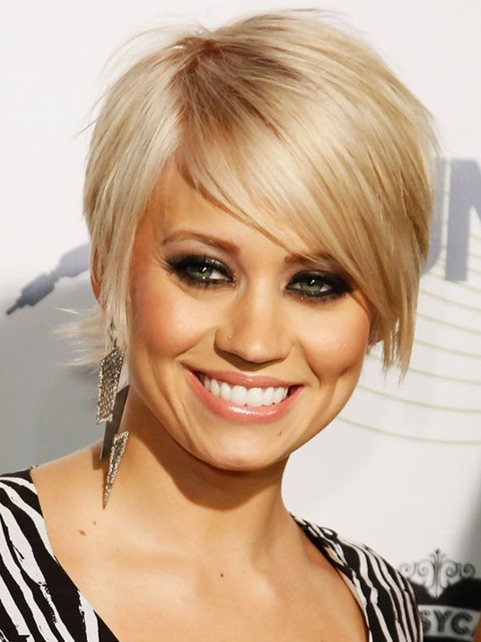 Easy, Short Blond Hair Styles: Kimberly Wyatt Hair  PoPular Haircuts