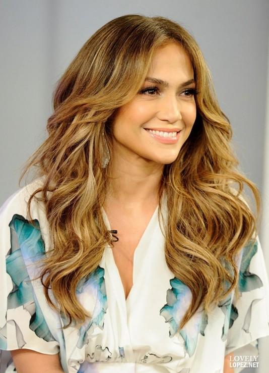 Layered Hairstyles for Long Hair, Jennifer Lopez Hair Cut