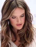 Layered, Light Brown Hairstyles, Alessandra Ambrosio Hair