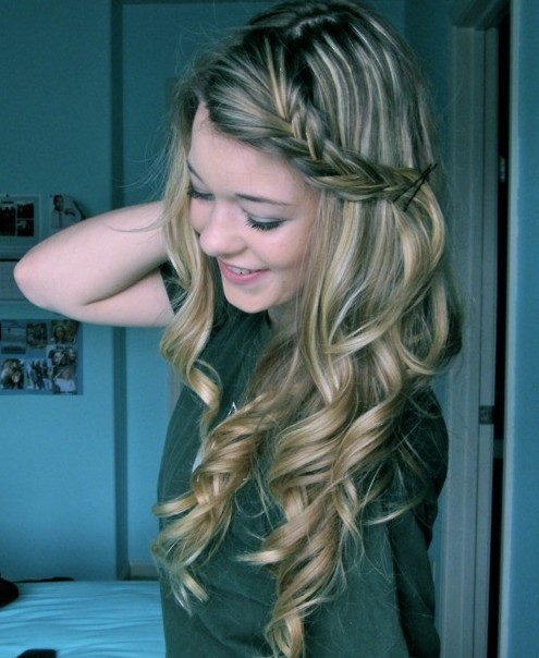 Long Curly Hairstyles Withids