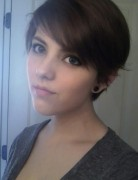 Pixie Haircut for Side Bangs,Teenage Girls Hairstyles