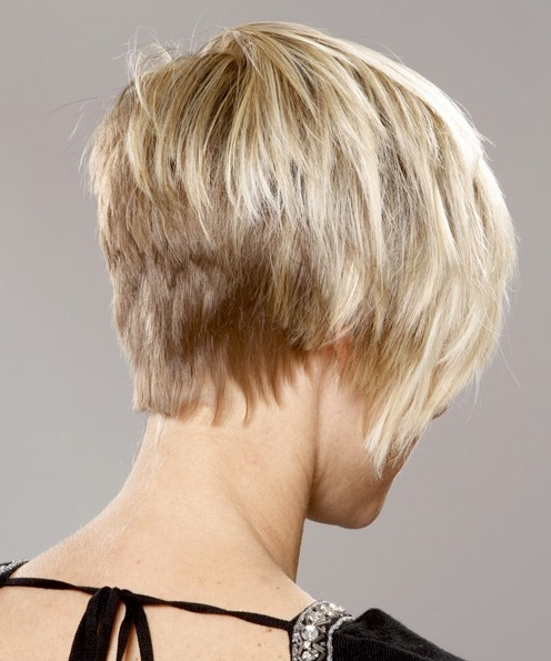 Picture of Textured Hairstyles for Short Hair: Straight Haircut ...