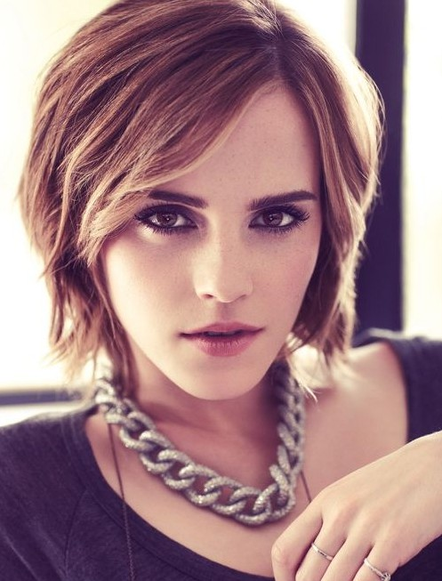 Picture of Trendy Short Hairstyles: Celebrity Haircuts/ Pinterest