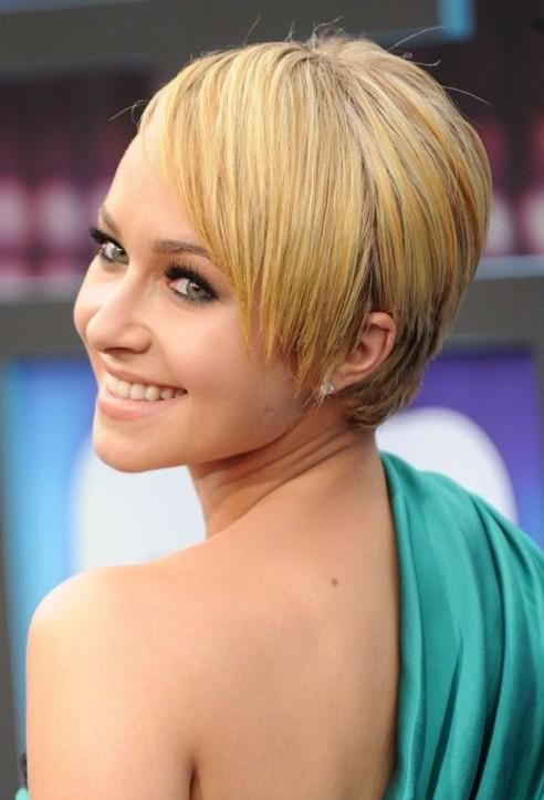 Hayden panettiere haircut