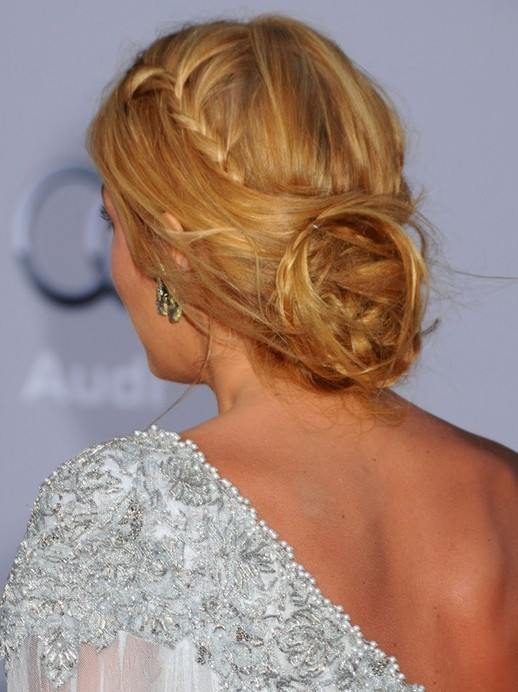 Braided Updo Hairstyles Blake Lively Hair Popular Haircuts