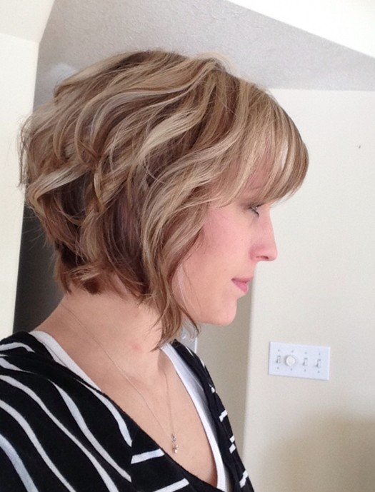 Curly bob hair style pinterest the luscious loose textured curls