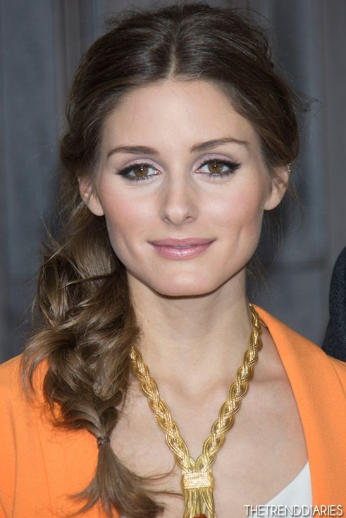 Easy, Side Braided Hairstyles, Olivia Palermo Hair