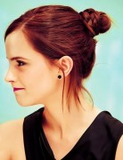 Emma Watson Hairstyles, Easy Updo