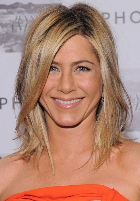 Marvelous Jennifer Aniston39 Haircuts Cute Easy Hairstyle For Medium Short Hairstyles For Black Women Fulllsitofus