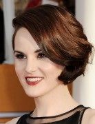 Michelle Dockery Hair, Formal Short Wavy Hairstyle