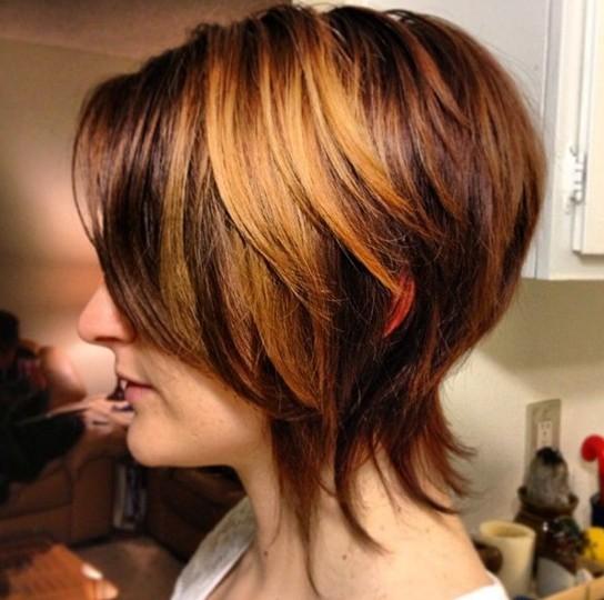 Miraculous 10 Graduated Bob Haircut Fashionable Short Hair Popular Haircuts Short Hairstyles Gunalazisus