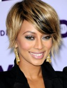 Short Straight Hairstyles for Bangs, Keri Hilson Hair