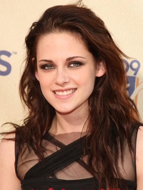 Tousled Hairstyles for Long Hair, Kristen Stewart Haircut
