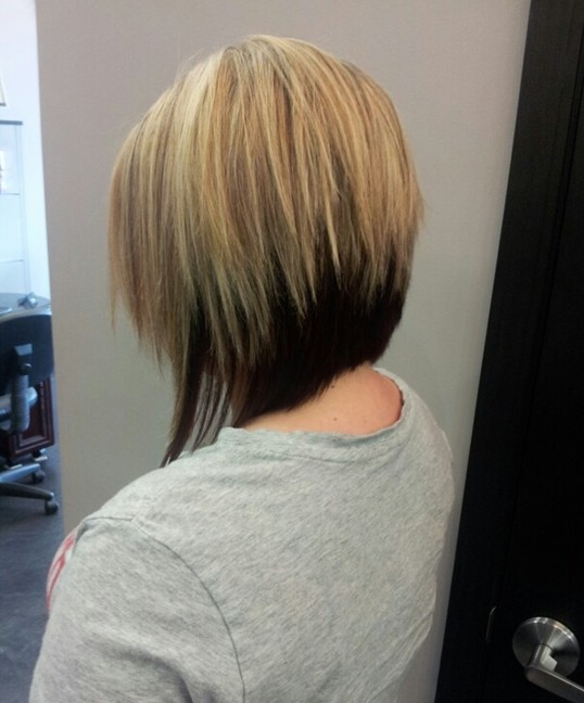 Two Tone Bob Haircuts/ pinterest : Partial highlight add much special ...