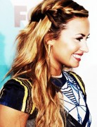 Waterfall Braid, Demi Lovato Hair