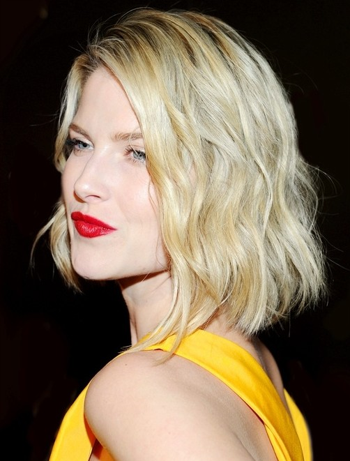 Blunt Bob Haircuts Medium Hairstyle With Blonde Hair