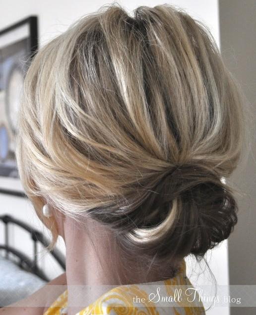 Tremendous Easy Hair Updos Medium Length Short Hairstyles Gunalazisus