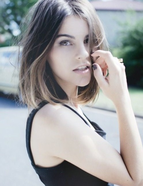 Ombre Bob Haircuts for Girls