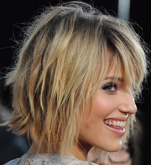 Bob Hairstyles for 2014: Shaggy Bob Haircut Ideas