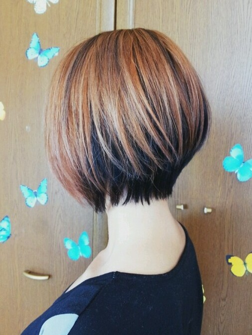 Short Bob Haircuts with Color