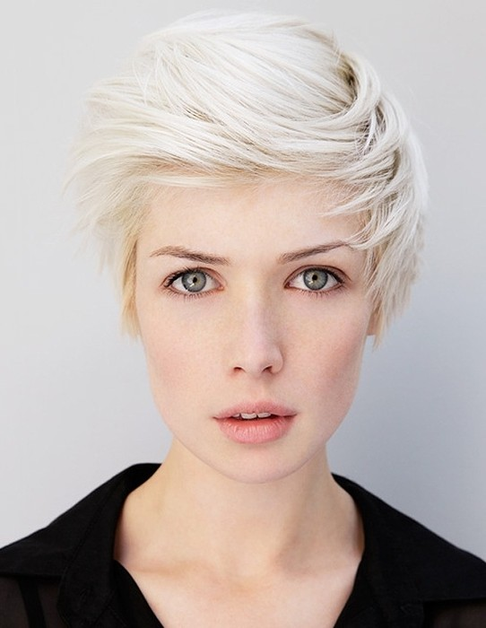 Short Hairstyles With Side Swept Bangs Popular Haircuts