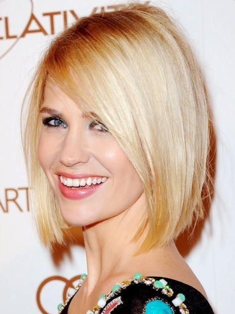 2014 Sleek Neck Length Bob Hairstyle Popular Haircuts