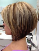 2014 Stacked Bob Haircut for Straight Hair