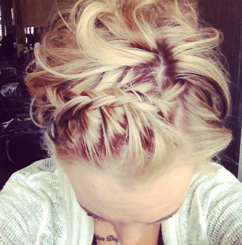 Groovy Updo Hairstyles With Braids And Bangs Braids Short Hairstyles For Black Women Fulllsitofus