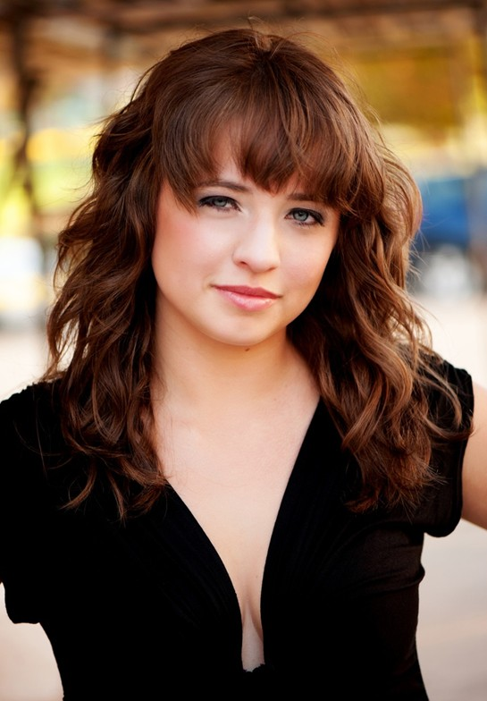 2014 Wavy Long Hairstyles with Bangs