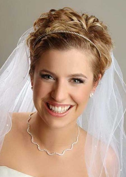 10 Wedding Hairstyles 2014 For Short Hair