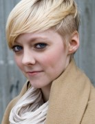 Cute Blonde Hairstyles for Short Hair 2014