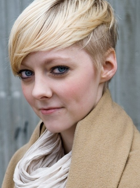 Cute Blonde Hairstyles for Short Hair 2014