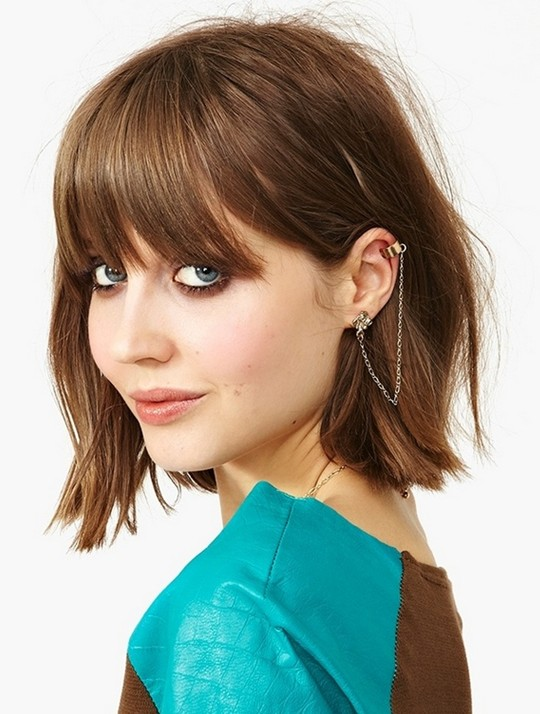 Cute Bob Hairstyles for Girls 2014