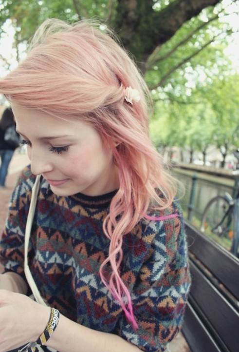 Brilliant Cute Ombre Hairstyles For Girls Long Hair With Side Fringe Short Hairstyles Gunalazisus