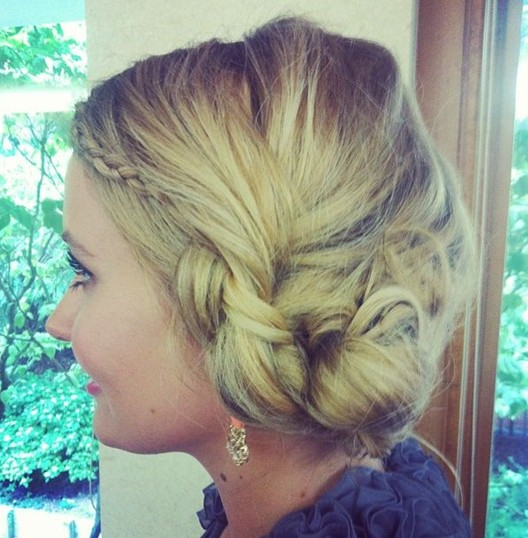 Cute and Easy Braided Updo Hairstyles