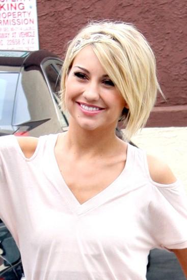 Easy Blonde Haircut – Short Hair with Side Bangs