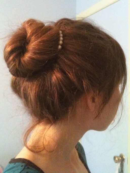 Easy Bun Hairstyles For Long Hair Popular Haircuts