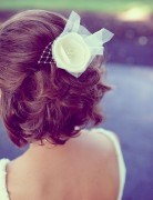Easy Short Wedding Hairstyles for 2014
