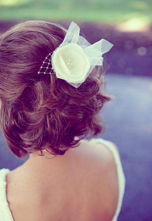 Easy Short Wedding Hairstyles