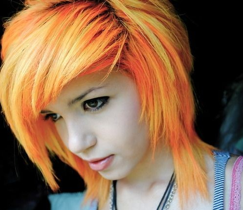 Emo Haircuts for Short Hair 2014