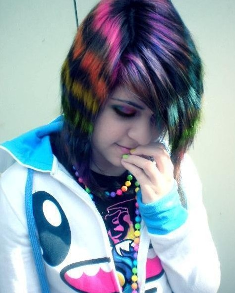Emo Hairstyles for Short Hair 2014