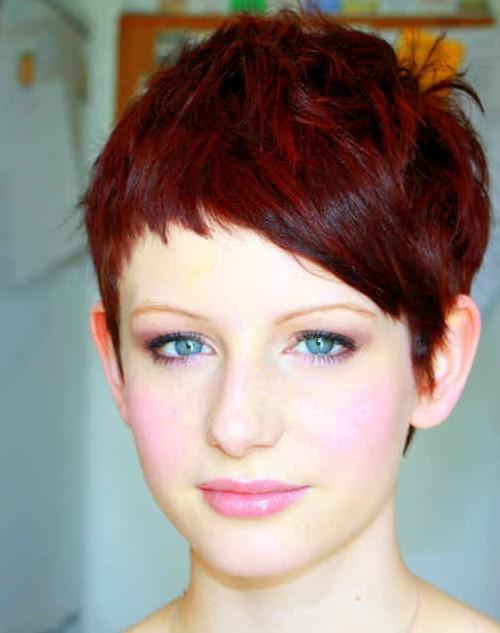 Hairstyles for Short Hair 2014 - Pixie Haircut
