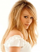 Hilary Duff Long Hairstyle - Blonde Hair