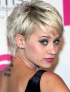 Kimberly Wyatt Short Hairstyles: Layered Pixie Haircut