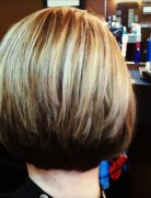 Layered, Stacked Bob Haircut
