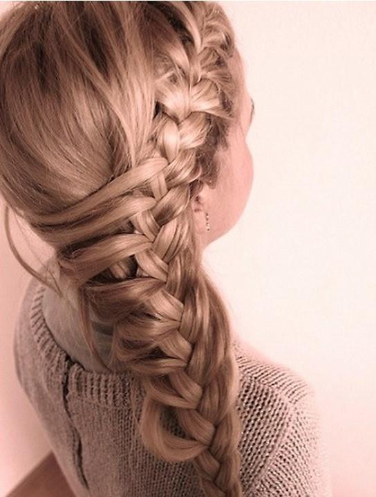 Long Hairstyles - Side Braided Hair Styles