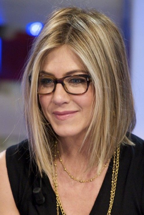 Neck Length Bob Haircut Jennifer Aniston S Hairstyles